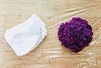 紫薯汤圆的做法