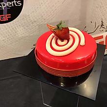 香豆/覆盆子蛋糕