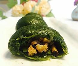 青团花式撩法--香菇笋丁豆角肉末青团的做法
