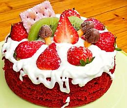 不用奶油的红丝绒裸蛋糕的做法