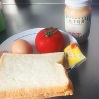 三明治(3分钟早餐)的做法图解1