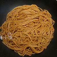 【酱油炒意面】中式炒面的方法做意面 的做法图解6