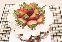 草莓巧克力蛋糕(六寸)的做法