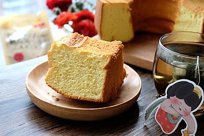 炼乳戚风蛋糕