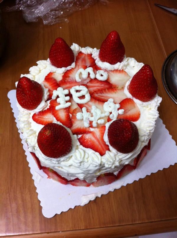芒果草莓千层蛋糕(8寸用料)的做法