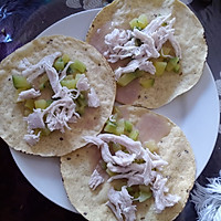 墨西哥玉米饼沙拉  taco tostadas的做法图解3