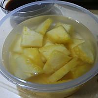 菠萝咕咾肉的做法图解2