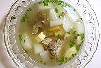 超级简单电饭锅白萝卜炖羊肉!我最爱的萝卜鲜笋羊肉汤!的做法