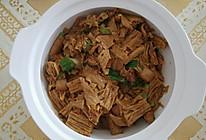 腐竹烧肉的做法