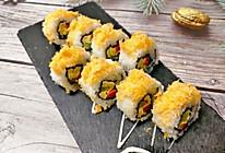 #换着花样吃早餐#好好吃的肉松寿司,一口一个,妙不可言的做法