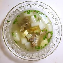 超级简单电饭锅白萝卜炖羊肉!我最爱的萝卜鲜笋羊肉汤!