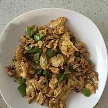 豆瓣酱炒鸡蛋