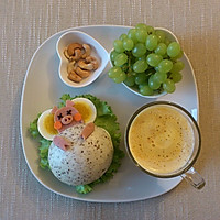有趣又健康的早餐—分享小睡猪中式汉堡做法的做法图解5