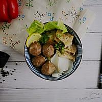 日常必备牛肉丸粿条汤的做法图解6