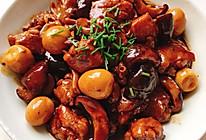 花菇鸡翅烧鹌鹑蛋的做法