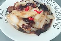 大白菜炒木耳的做法