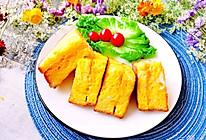 #换着花样吃早餐#咸蛋黄夹心吐司的做法