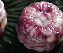 日食记 | 紫薯流心月饼的做法
