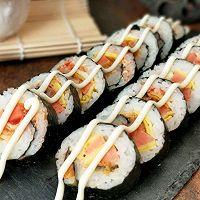 #爽口凉菜,开胃一夏!#家常寿司的做法图解9