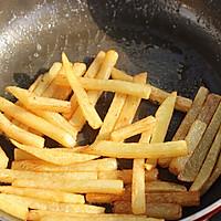 奶香味炸薯条的做法图解6