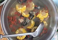 红枣玉米乌鸡汤的做法