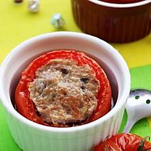 肉糜酿番茄