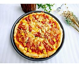 美味火腿披萨的做法
