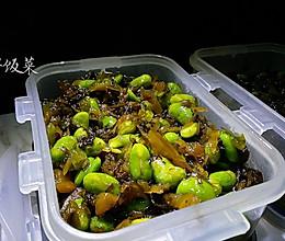 咸菜炒毛豆子 最下饭的早饭菜的做法