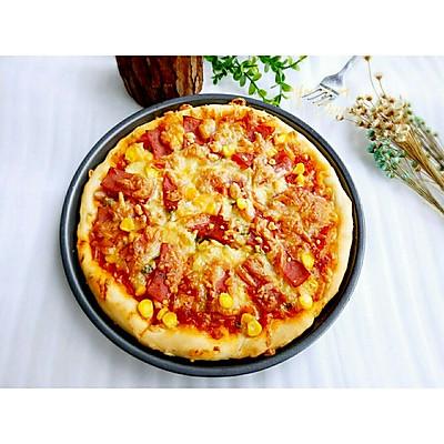 美味火腿披萨