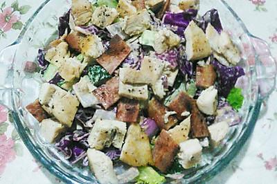 香煎鸡胸肉沙拉(3人)