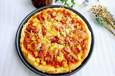 美味火腿披薩