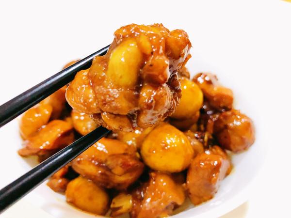 板栗比鸡好吃的板栗烧鸡的做法