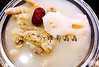 莲藕排骨鸡爪汤的做法
