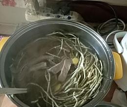 鱼腥草瘦肉汤的做法
