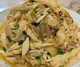 葱油手撕鸡(简单易做)的做法