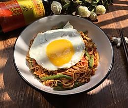 番茄豆角蛋焖面#厨此之外,锦享美味#的做法
