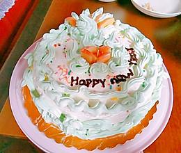 8寸奶油蛋糕的做法