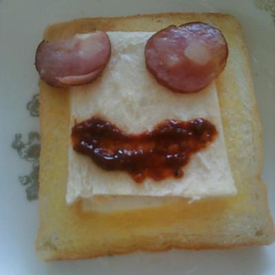 简易早餐o( =•ω•= )m的做法 步骤6