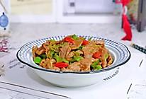 #钟于经典传统味#牛肉片炒青椒的做法
