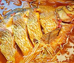 #下饭红烧菜#湖北名菜武昌鱼真的好吃做道家常红烧鱼的做法