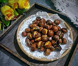 #带着美食去踏青#蜂蜜烤栗子的做法