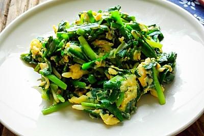 春韭菜炒鸡蛋