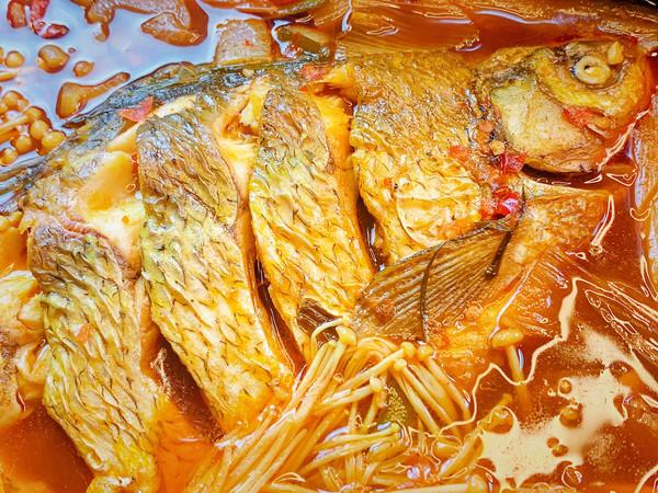 湖北名菜武昌鱼真的好吃做道家常红烧鱼的做法