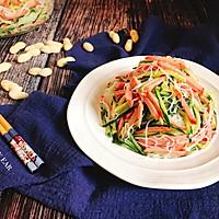 火腿肠粉丝凉拌黄瓜 快手简单好做家常菜开胃下酒凉菜