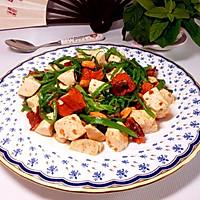翠椒豆腐的做法图解7