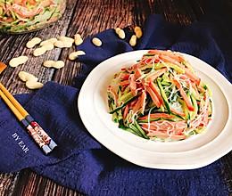 火腿肠粉丝凉拌黄瓜 快手简单好做家常菜开胃下酒凉菜的做法