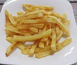 炸薯条(不用煮也不冷冻,炸出酥脆薯条)的做法