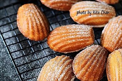 #挚爱烘焙·你就是MOF#法式小甜点:香草玛德琳