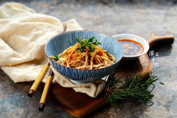麻辣鸡丝#盛年锦食.忆年味#的做法