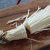 桌饭年夜菜   剁椒金针菇,唤醒你的味蕾和胃口的做法图解1